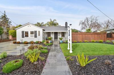SAN JOSE Single Family Home For Sale: 1161 Crescent Dr