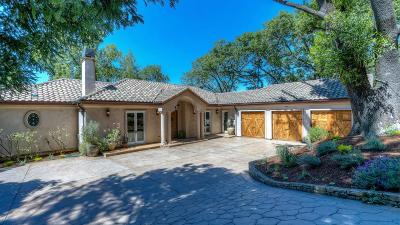 Portola Valley Single Family Home For Sale: 190 Vista Verde Way
