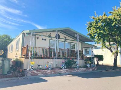San Jose Mobile Home For Sale: 828 Spindrift St 828