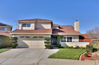 GILROY Single Family Home Contingent: 8537 Emerson Ct