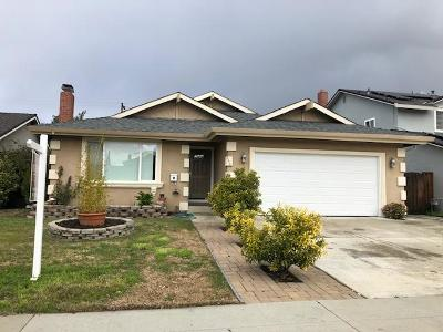 SAN JOSE CA Single Family Home For Sale: $999,900