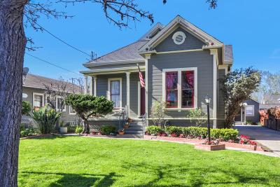 SANTA CLARA Single Family Home For Sale: 626 Lincoln St