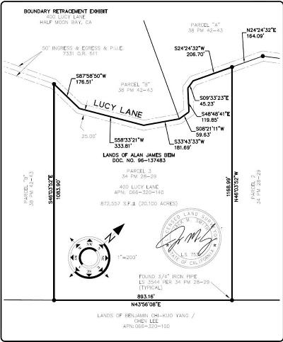 Half Moon Bay Residential Lots & Land For Sale: 400 Lucy Ln