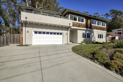 Santa Cruz County Single Family Home Contingent: 22811 E Cliff Dr