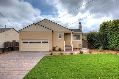 Millbrae Single Family Home For Sale: 43 Michael Ln