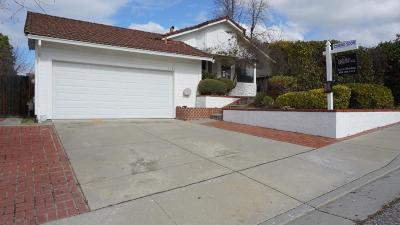 San Jose Single Family Home For Sale: 3425 Coltwood Ct