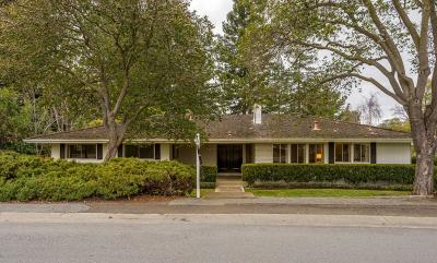 Menlo Park Single Family Home For Sale: 2240 Avy Ave