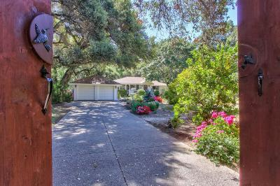 Carmel Valley Single Family Home For Sale: 10 Upper Cir