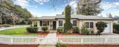MENLO PARK Single Family Home For Sale: 101 Laurel Ave