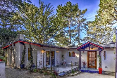 Pacific Grove Single Family Home For Sale: 1031 Short St