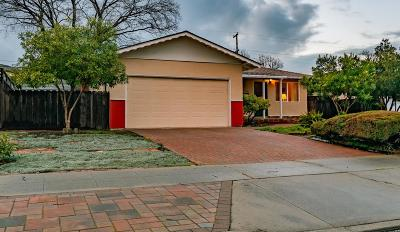 SAN JOSE Single Family Home For Sale: 1101 Craig Dr
