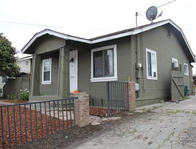 SALINAS Single Family Home For Sale: 26 Natividad Rd