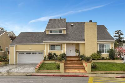 MILLBRAE Single Family Home For Sale: 1119 Magnolia Ave
