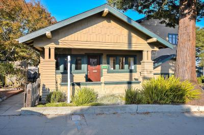 Pacific Grove Single Family Home For Sale: 316 14th St
