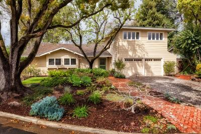 Menlo Park Single Family Home For Sale: 170 Pineview Ln