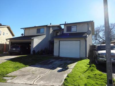 Stockton Multi Family Home For Sale: 860 Dundee Way