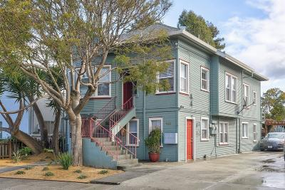 SANTA CRUZ Multi Family Home For Sale: 708 Riverside Ave