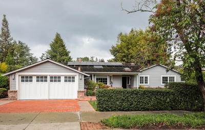 LOS ALTOS Single Family Home For Sale: 643 Almond Ave