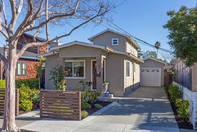 REDWOOD CITY Single Family Home For Sale: 1133 Ebener St