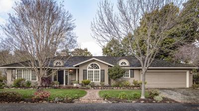 Menlo Park Single Family Home For Sale: 1220 Hillview Dr