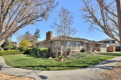 SANTA CLARA Single Family Home Contingent: 219 Alviso St