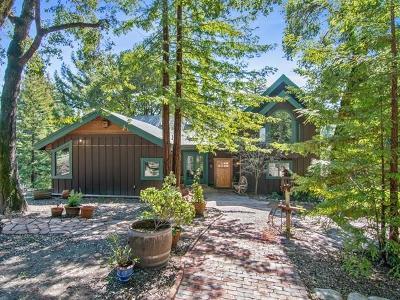 LA HONDA Single Family Home For Sale: 265 Portola State Park Rd