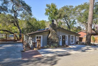 Single Family Home For Sale: 21385 Bertram Rd