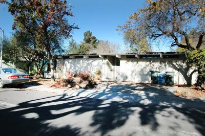 PALO ALTO Single Family Home For Sale: 3419 Cork Oak Way