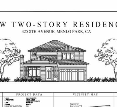 MENLO PARK Residential Lots & Land For Sale: 425 8th Ave
