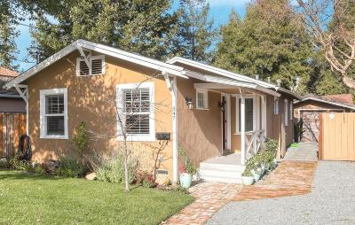 REDWOOD CITY Multi Family Home For Sale: 347 San Carlos Ave