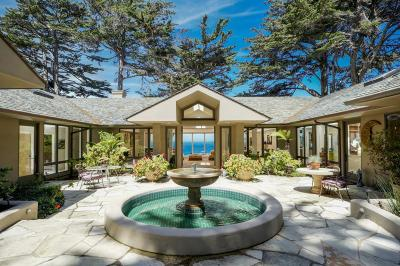 Carmel Highlands Single Family Home For Sale: 29798 Highway 1