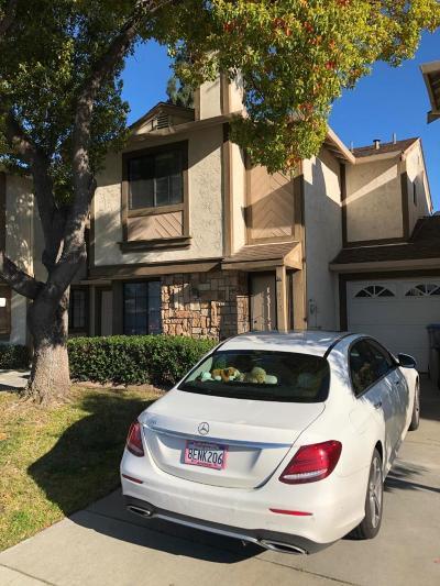 SAN JOSE CA Townhouse For Sale: $599,000