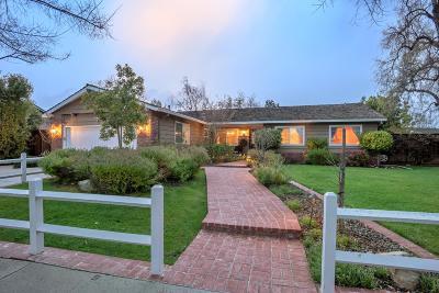 SAN JOSE CA Single Family Home For Sale: $1,699,000