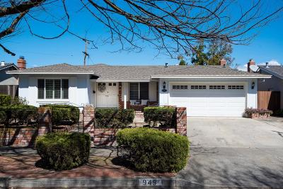SAN JOSE Single Family Home For Sale: 949 Wren Dr