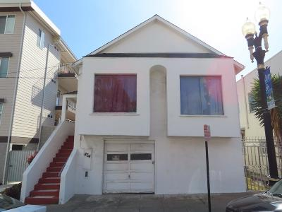 SOUTH SAN FRANCISCO Multi Family Home Contingent: 834 Linden Ave