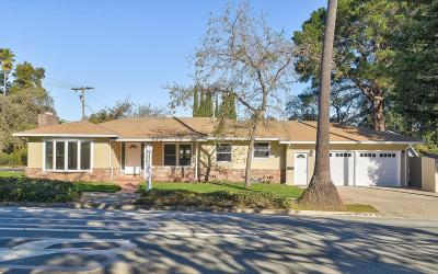 REDWOOD CITY Single Family Home For Sale: 103 Alameda De Las Pulgas