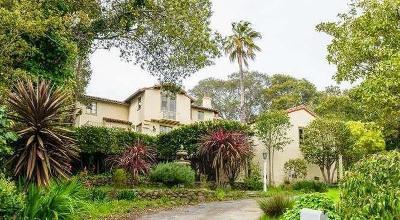 HILLSBOROUGH Single Family Home For Sale: 1016 San Raymundo Rd