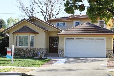 CUPERTINO Single Family Home For Sale: 7630 Kirwin Ln