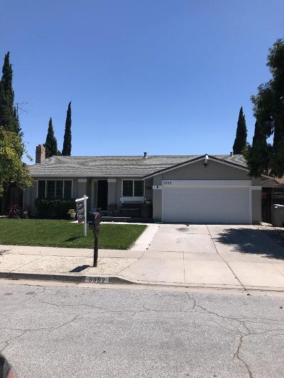 SAN JOSE CA Single Family Home For Sale: $1,010,000
