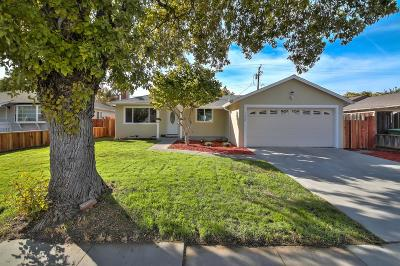 SANTA CLARA Single Family Home For Sale: 1058 Las Palmas Dr