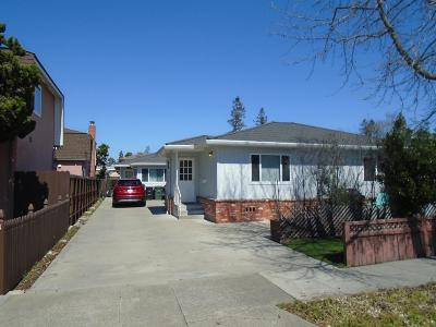 REDWOOD CITY Multi Family Home For Sale: 1567/9 Hawes Ct