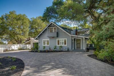 SARATOGA Single Family Home For Sale: 14054 Alta Vista Ave