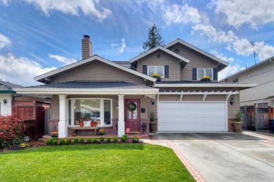 REDWOOD CITY Single Family Home For Sale: 1839 Poplar Ave
