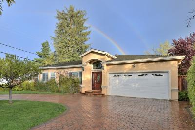 Saratoga Single Family Home For Sale: 13354 Fontaine Dr