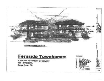 Santa Cruz Residential Lots & Land For Sale: 150 Fernside St