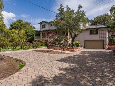 Redwood City Single Family Home For Sale: 527 Sunset Way