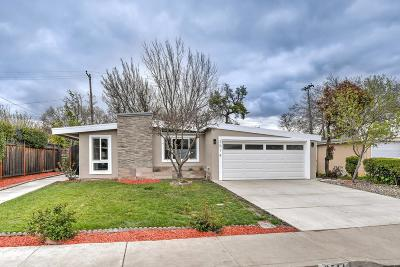 SANTA CLARA Single Family Home For Sale: 2514 Hayward Dr