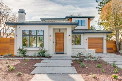 Palo Alto Single Family Home For Sale: 3288 Bryant St
