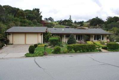 Monterey Single Family Home Contingent: 10121 Blue Larkspur Ln