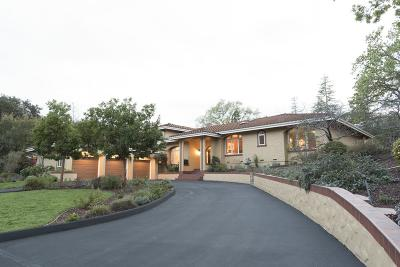 SARATOGA Single Family Home For Sale: 14801 Gypsy Hill Rd